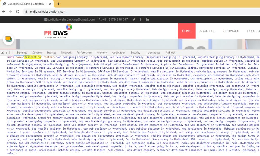 Sloppiest SEO • prdigitalwebsolutions • Meta Description • Sloppy SEO Players