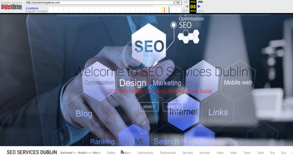 seoservicesgalway.com • 2018-08-05 • Sloppiest SEO Candidate • SEO Smoothie • SEO Agency