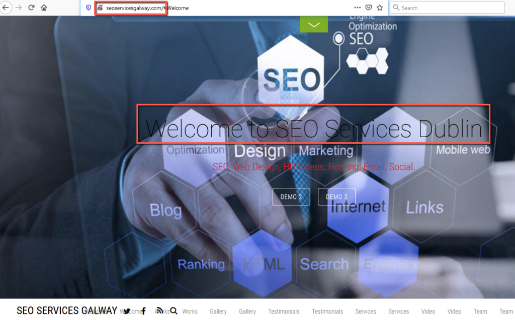 seoservicesgalway.com • 2021-01-09 • Sloppiest SEO Candidate • SEO Smoothie • SEO Agency